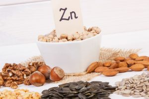 nuts high in zinc